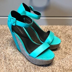 Fun and flirty high heel sandal
